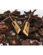 Pendientes Wood Oro y Madera