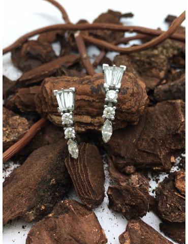 Pendientes Oro Diamantes...