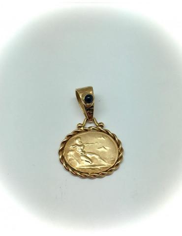 Colgante Moneda Romana, Oro...