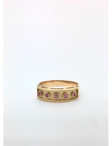 Sortija Etrusca en Oro y...